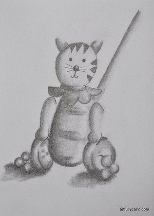 pencil drawing by Carin Cullen artfullycarin.com