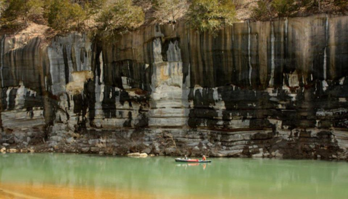 canoeing, buffalo cliff :: Scott Miller interview www.LearnExploreShare.com