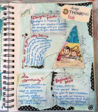 design thinking art by heather koshiol